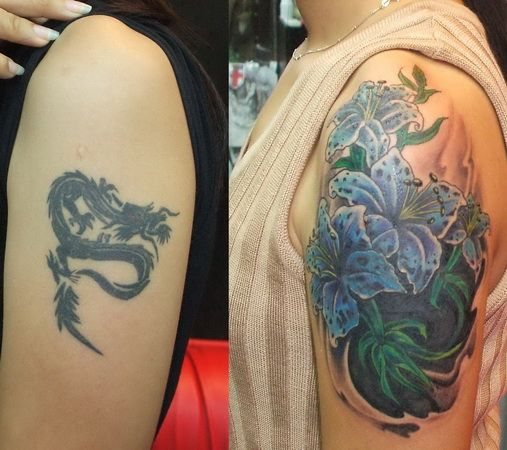Tattoo Ideas Cover Ups: Dark Cover Up Tattoo Designs