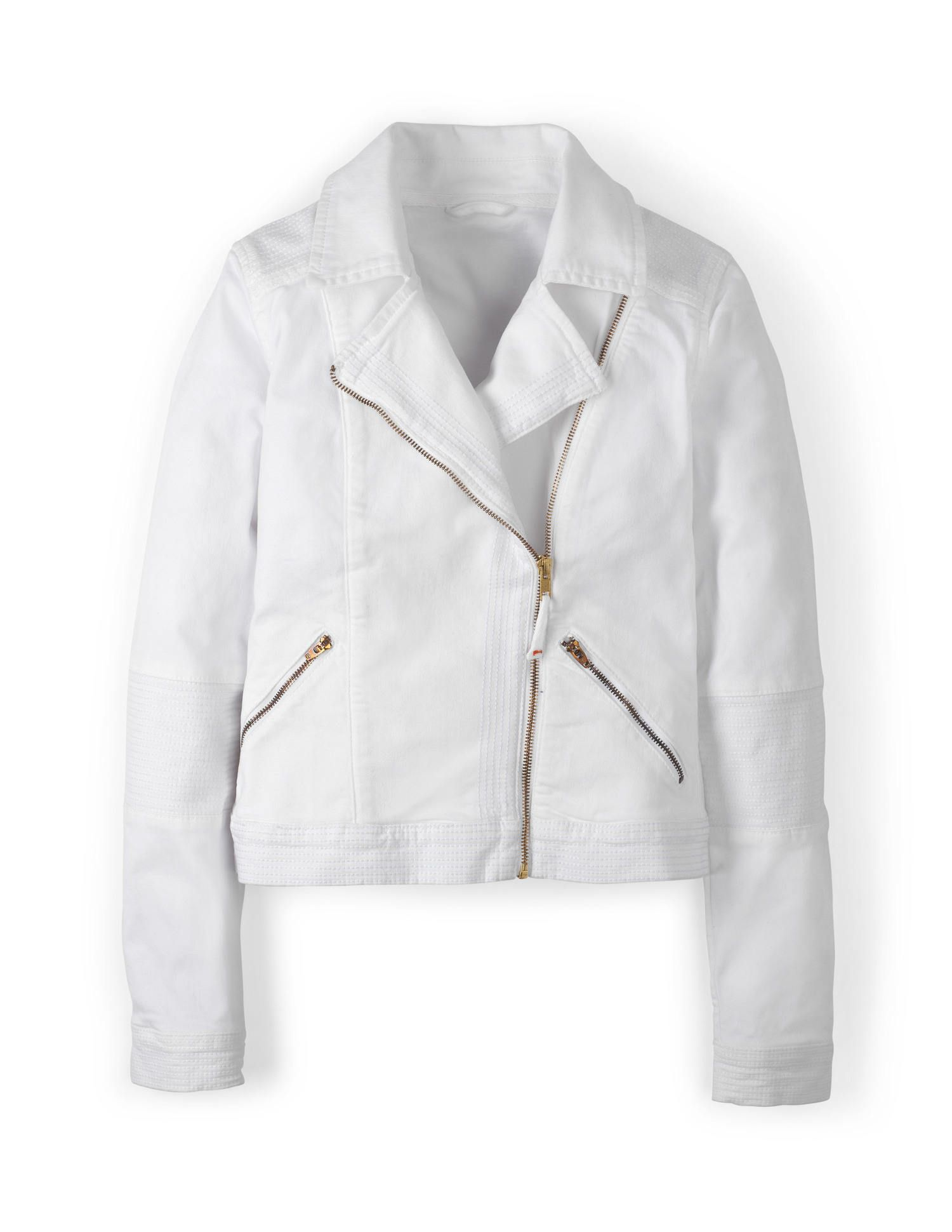 ac85b528273 All white on the night - Boden white biker jacket.