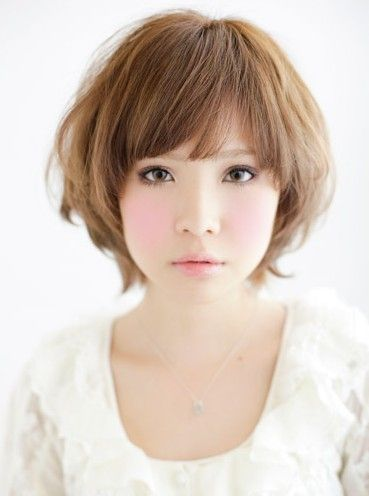 Japanese Hairstyles Gallery Short Hair Styles For Round Faces
