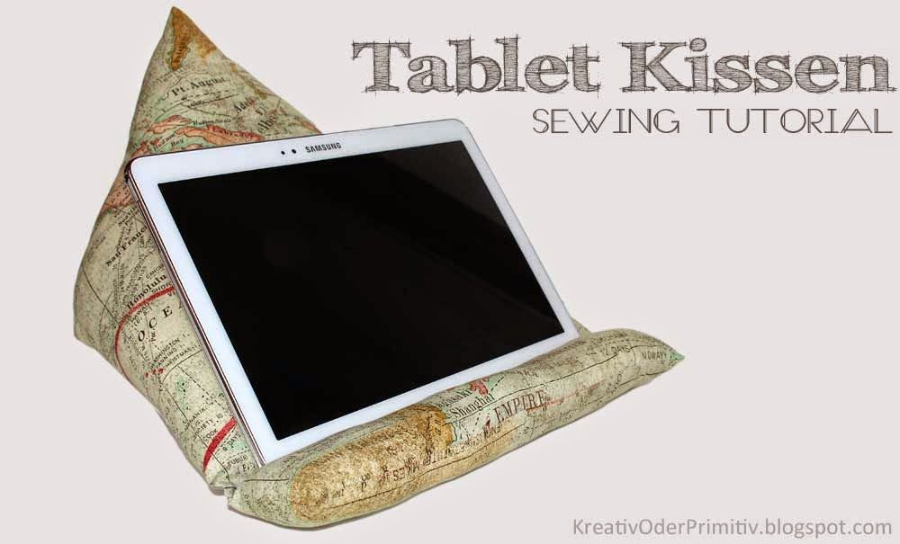 tablet kissen n hanleitung anleitung free sewing tutorial schnittmuster kostenlos g nstig. Black Bedroom Furniture Sets. Home Design Ideas