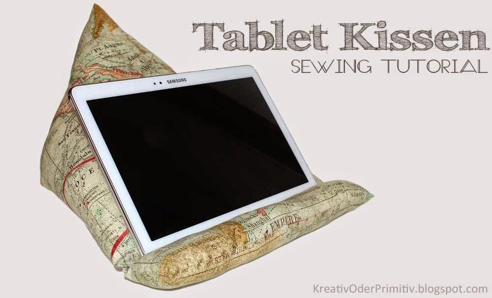Tablet Kissen Nähanleitung Anleitung Free Sewing Tutorial ...