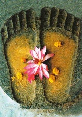 Billedresultat for Buddhas footstep