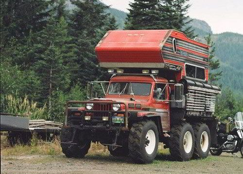 Funny Rv Monster Jeep Camper Forget 4x4 How About 6x6 Jeep