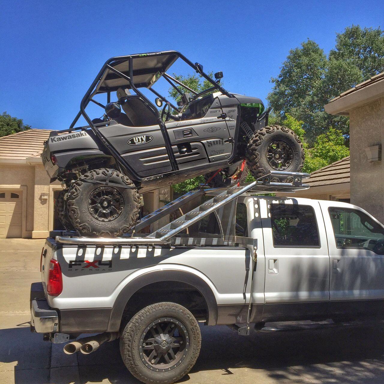 UTV Truck Rack Atv racks, Trucks, Chevy trucks for sale