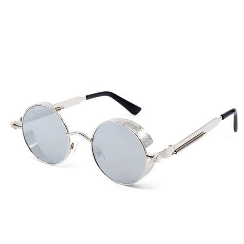 492955cfc00 ... Atomic Sunglasses by Wynwood Shop. Steampunk Silver Mirrored Sunglasses