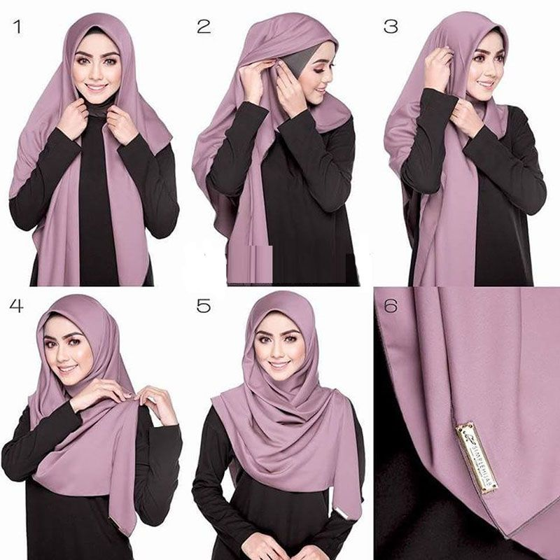 Time To Source Smarter Square Hijab Tutorial Tutorial Hijab Segitiga Hijab Style Tutorial