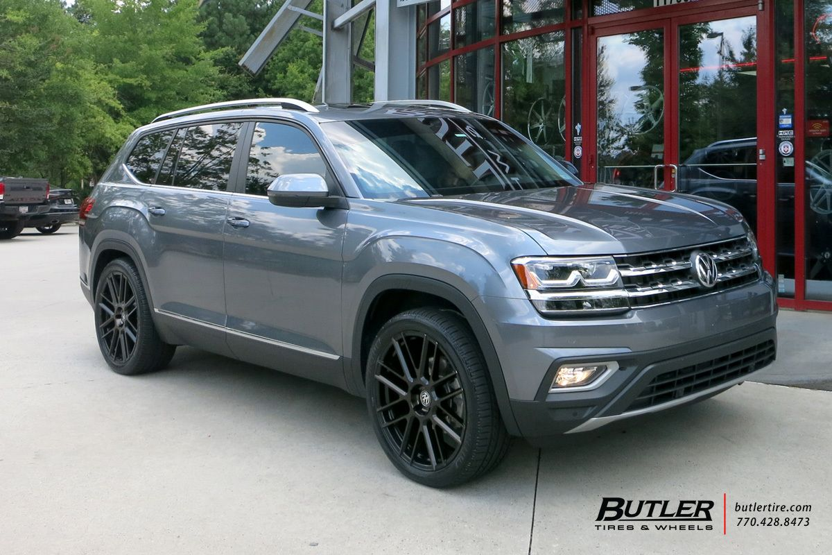 VW Atlas with 22in TSW Mosport Wheels (With images