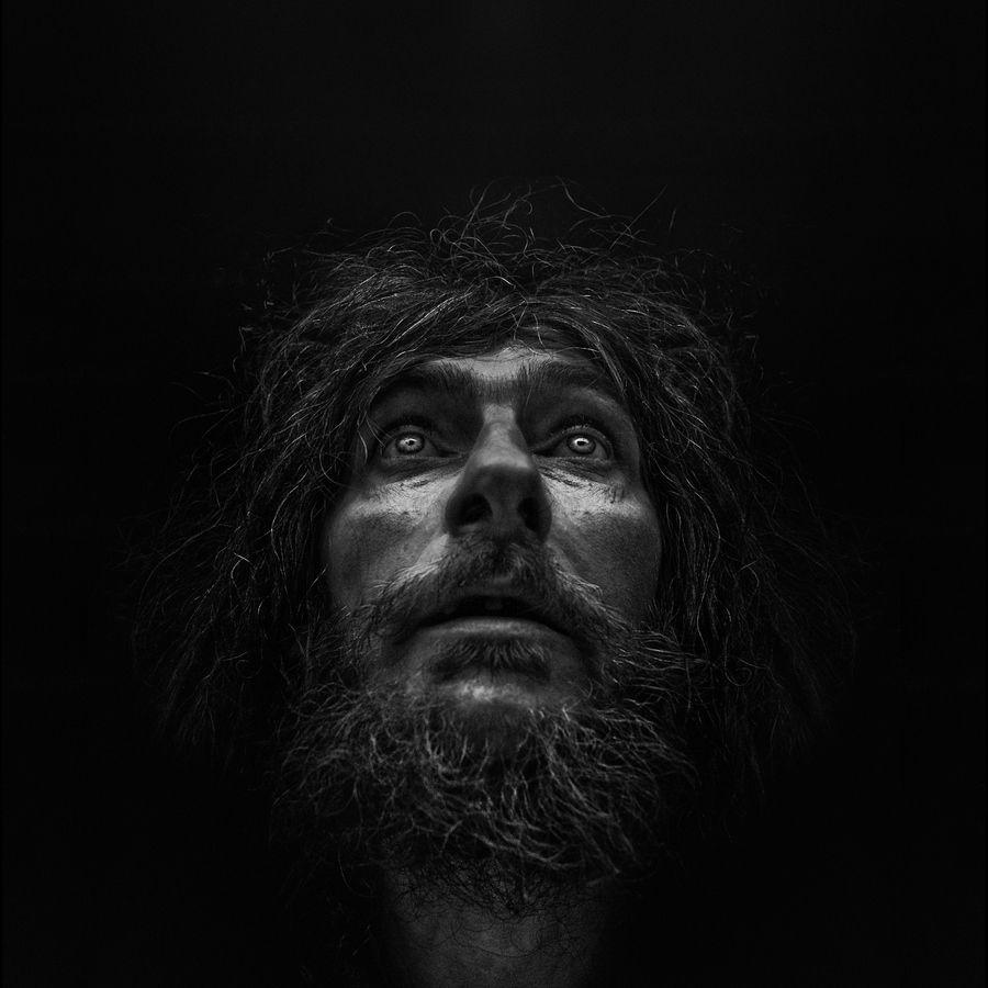 Photographer Lee Jeffries Striking Portraits Will Change: Lee Jeffries, Retratos Em Preto E Branco