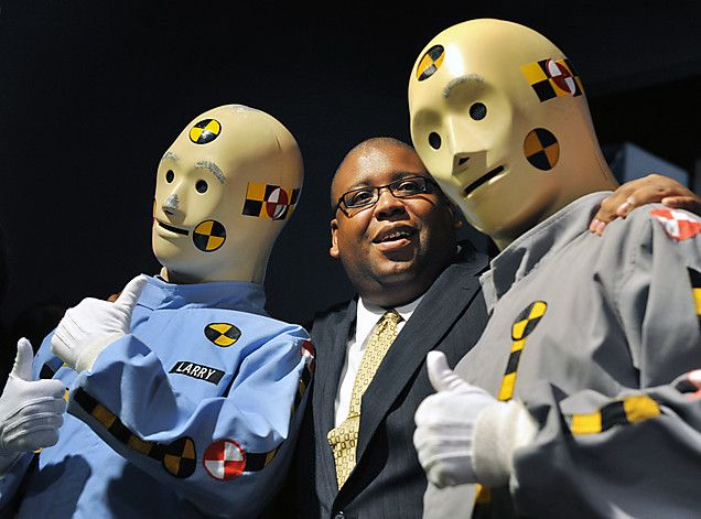 GM crash test dummies head to Smithsonian  Them There and The ojays