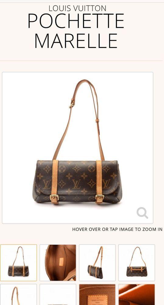 41e2ff844 SOLD OUT - Authentic Louis Vuitton Monogram Pochette Marelle Bum Waist Bag # LouisVuitton #BumWaistBag #waist #monogram #LV #authentic #h_d94 #@hdkloset
