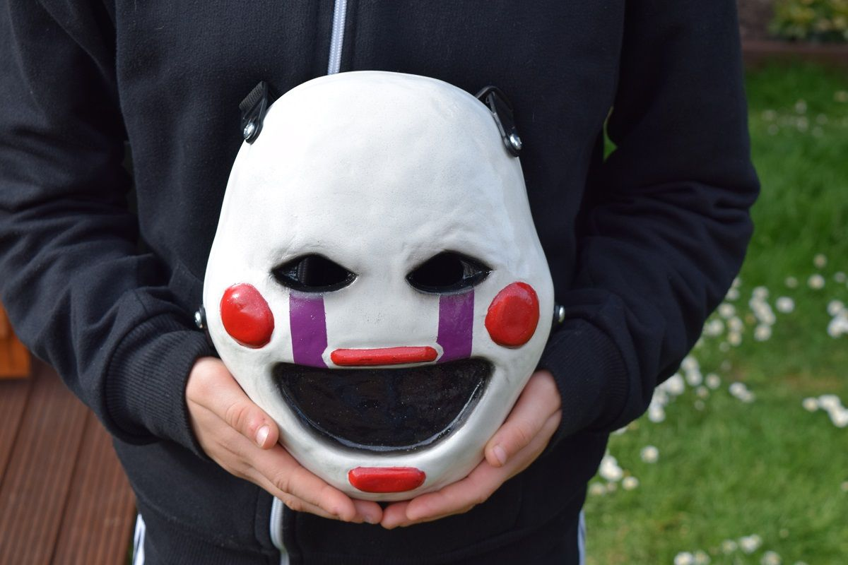 Puppet Mask (less glitter) created by mrgrandgrind @ Reddit. https://www.reddit.com/r/fivenightsatfreddys/comments/3iw0y6/thanks_for_giving_me_an_awesome_summer_heres/