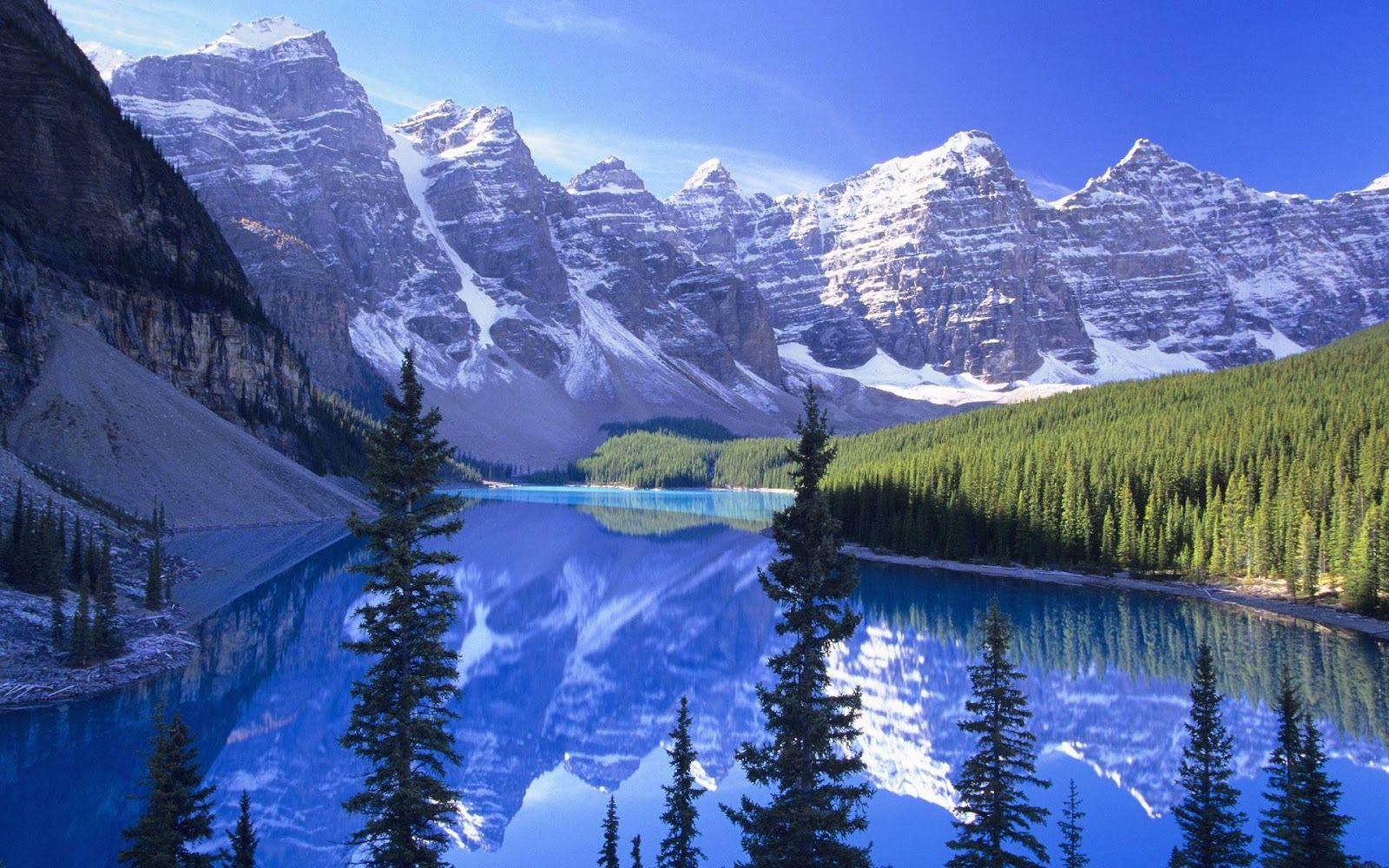 Computer Wallpaper Pc Desktop Screen Saver Canada National Parks Alberta National Parks Landscape Photos
