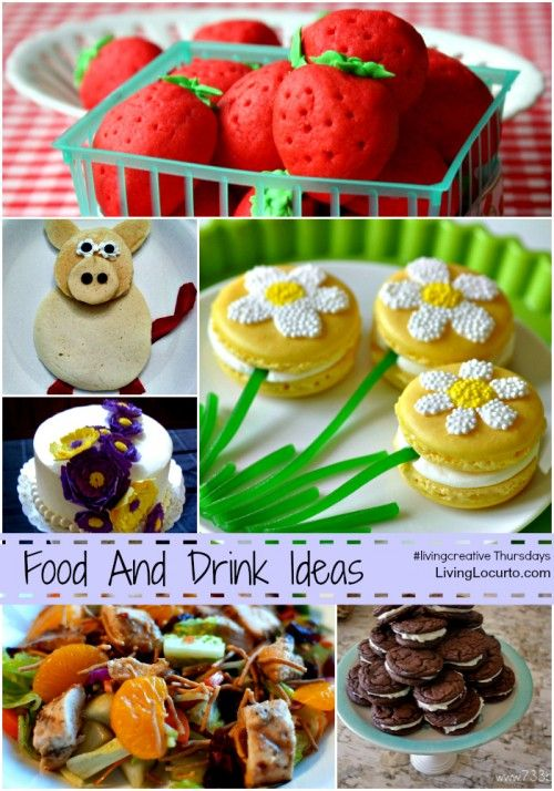 Yummy Food and Drink Ideas for #livingcreative Thursday by LivingLocurto.com