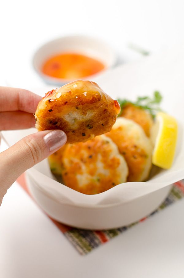 Thai fish cakes tod mun pla recipe fish cake and food for Chinese fish cake