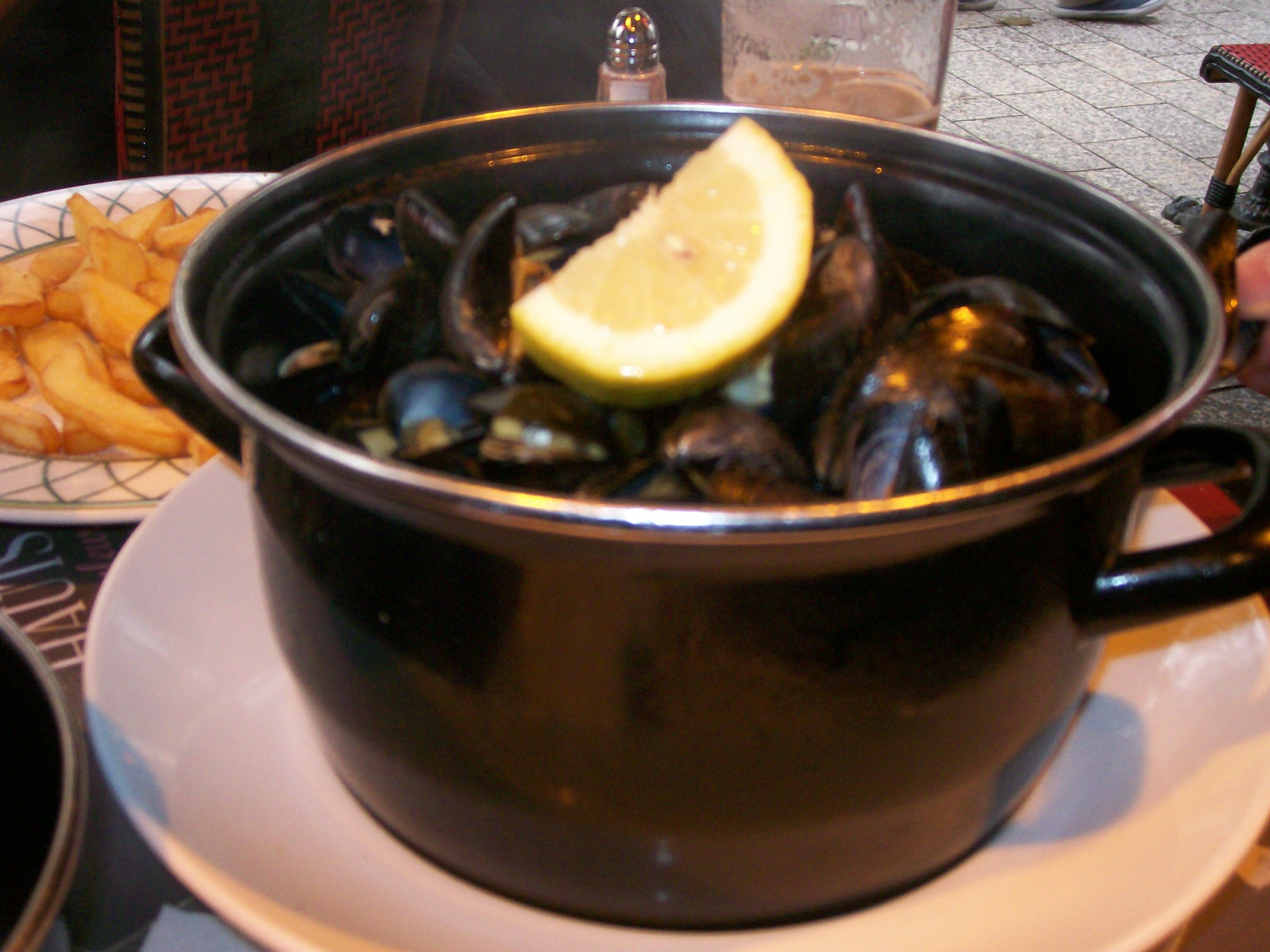 Mussel pot - delicious ...mmmmm