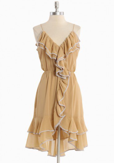 #Ruche                    #love                     #Love #Song #Ruffle #Dress #Modern #Vintage #Dresses                          Love Song Ruffle Dress | Modern Vintage Dresses                               http://www.seapai.com/product.aspx?PID=491871