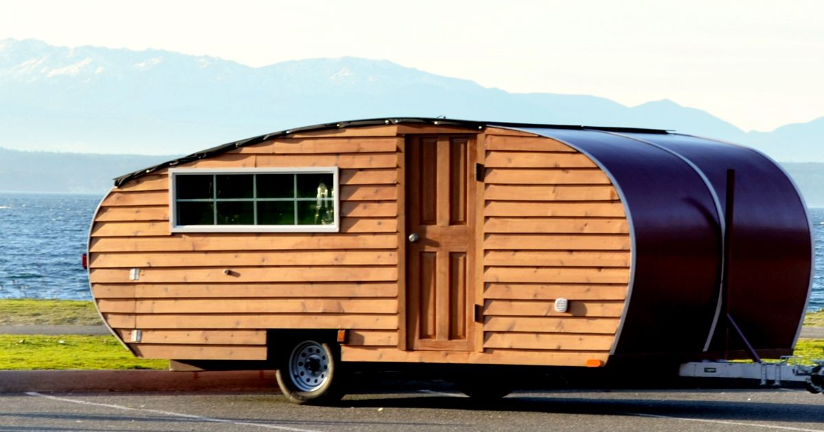 Wood Panel Camper Makes Sustainable Statement