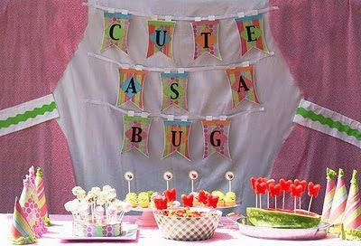Cute As A Bug Party - Oh My Creative