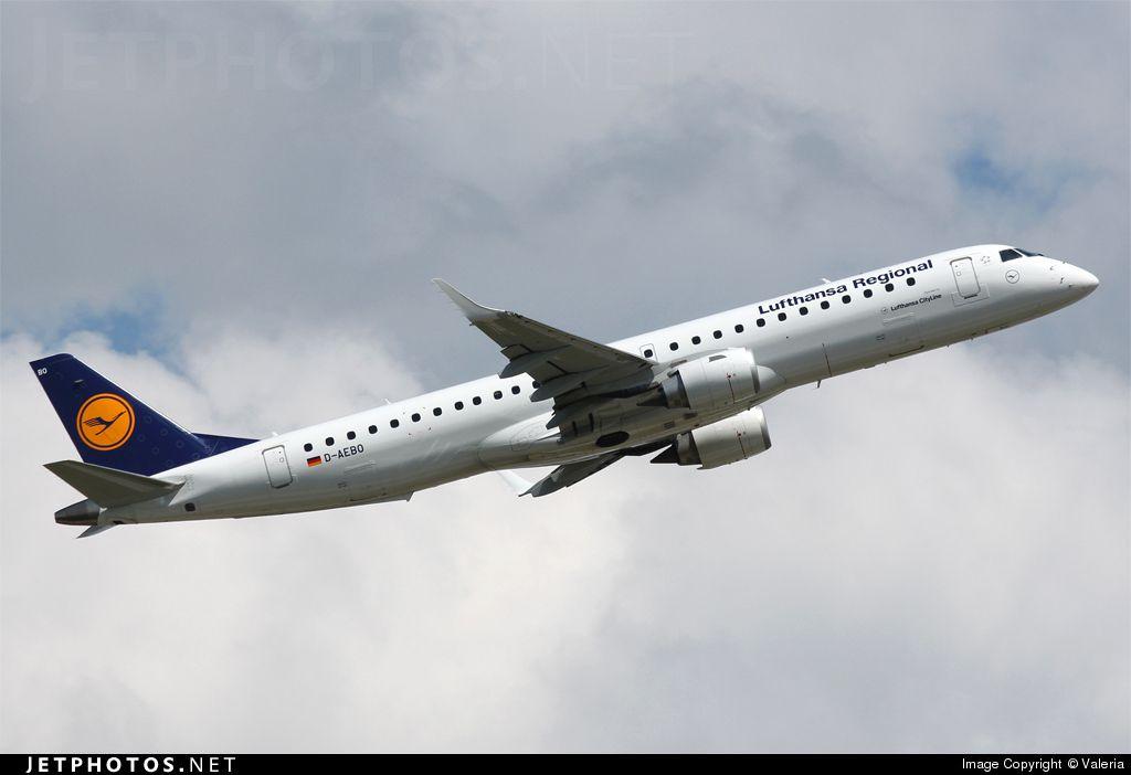 Embraer 190-200LR D-AEBO 19000542 München Franz Josef Strauß - EDDM