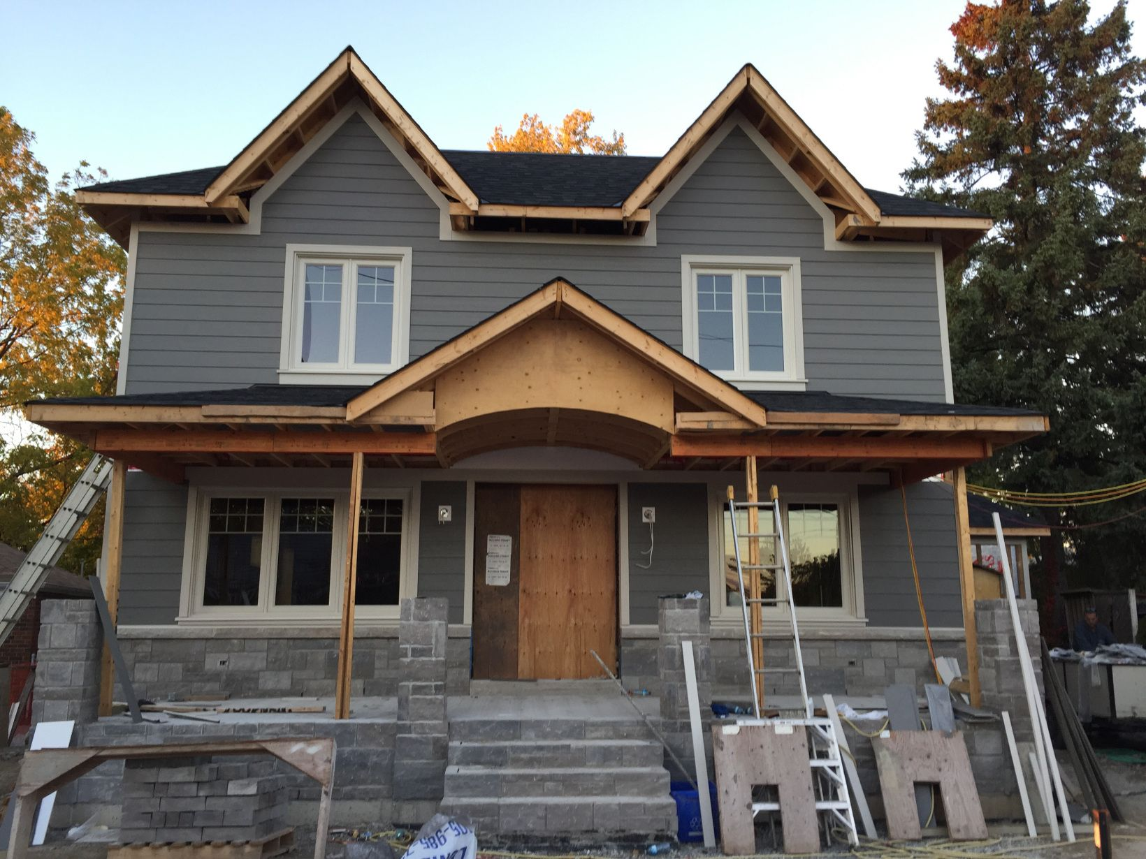 The siding is james hardie cement fiberboard in a colour for Hardiplank home designs