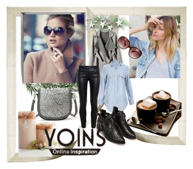 """""""YOINS 29"""" by ramiza-rotic ❤ liked on Polyvore featuring Balenciaga, Pier 1 Imports, Oliver Peoples, women's clothing, women, female, woman, misses and juniors"""