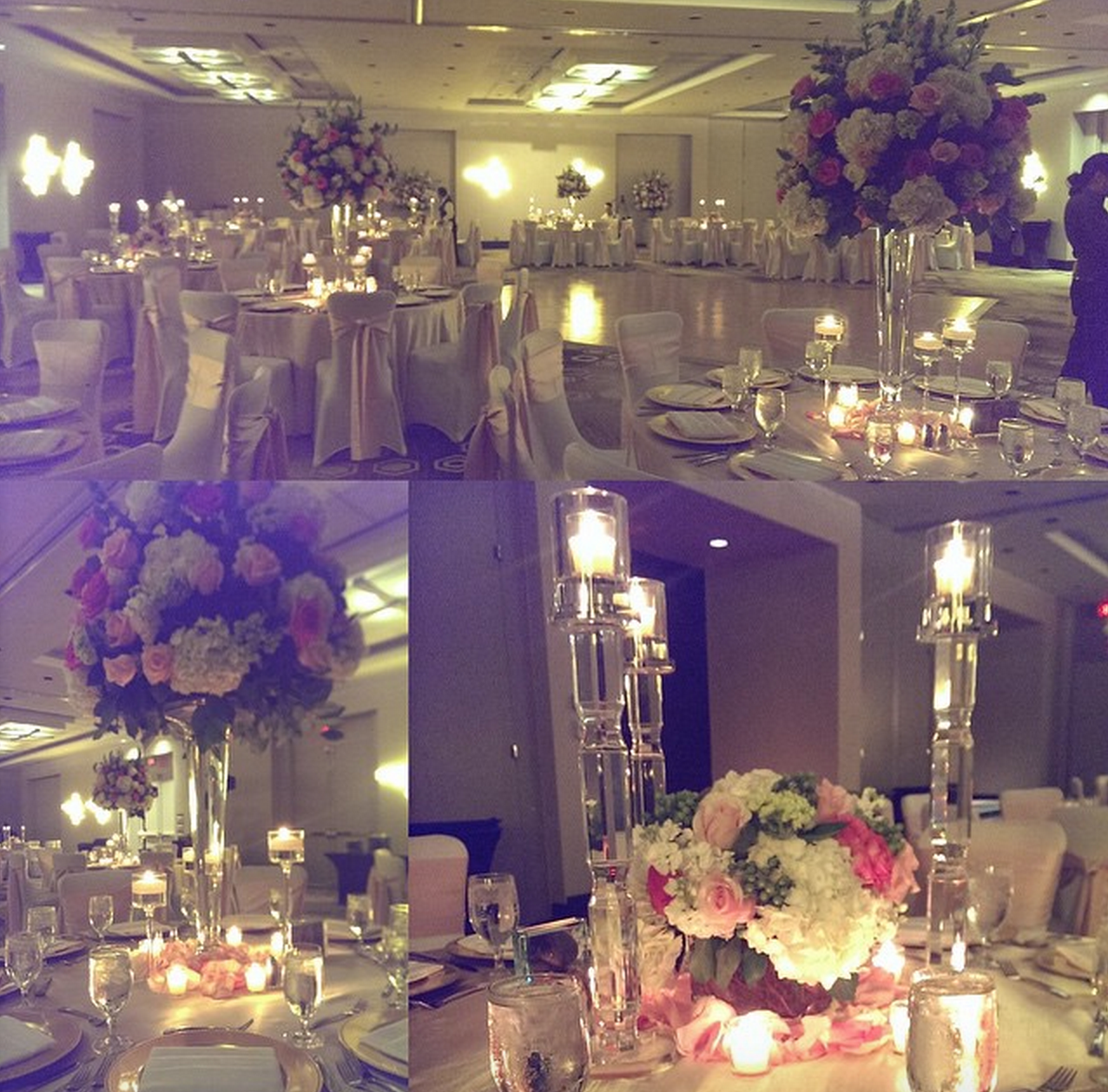 Congrats to Crystal Klonek and Vincent Rivera! (Florist: Weddings & Events by My Creations)