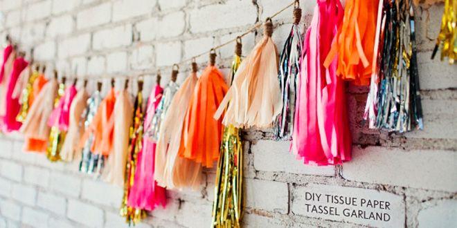 Uma decoração de papel pode ser econômica e muito bonita para a sua festa: http://comofazartesanato.com.br/decoracao-de-papel/