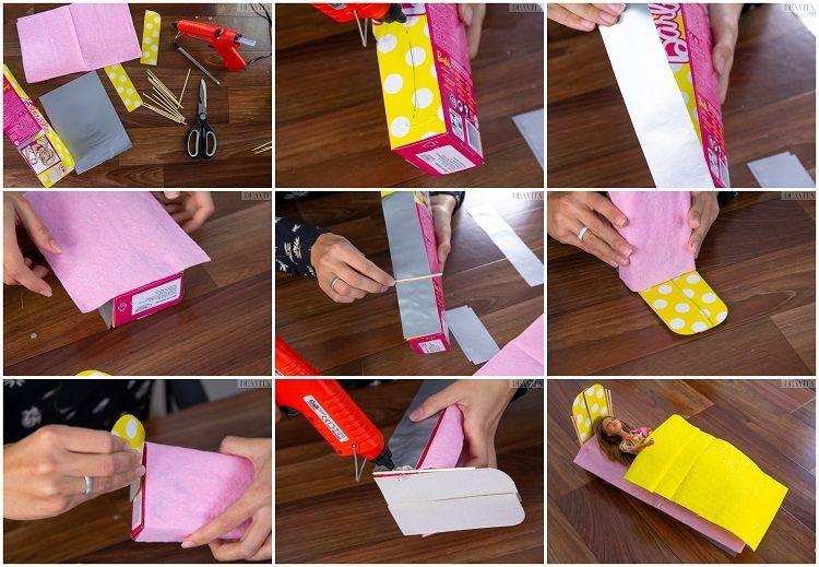 Meubles Maison De Poupee Diy 15 Bricolages Miniatures A Copier