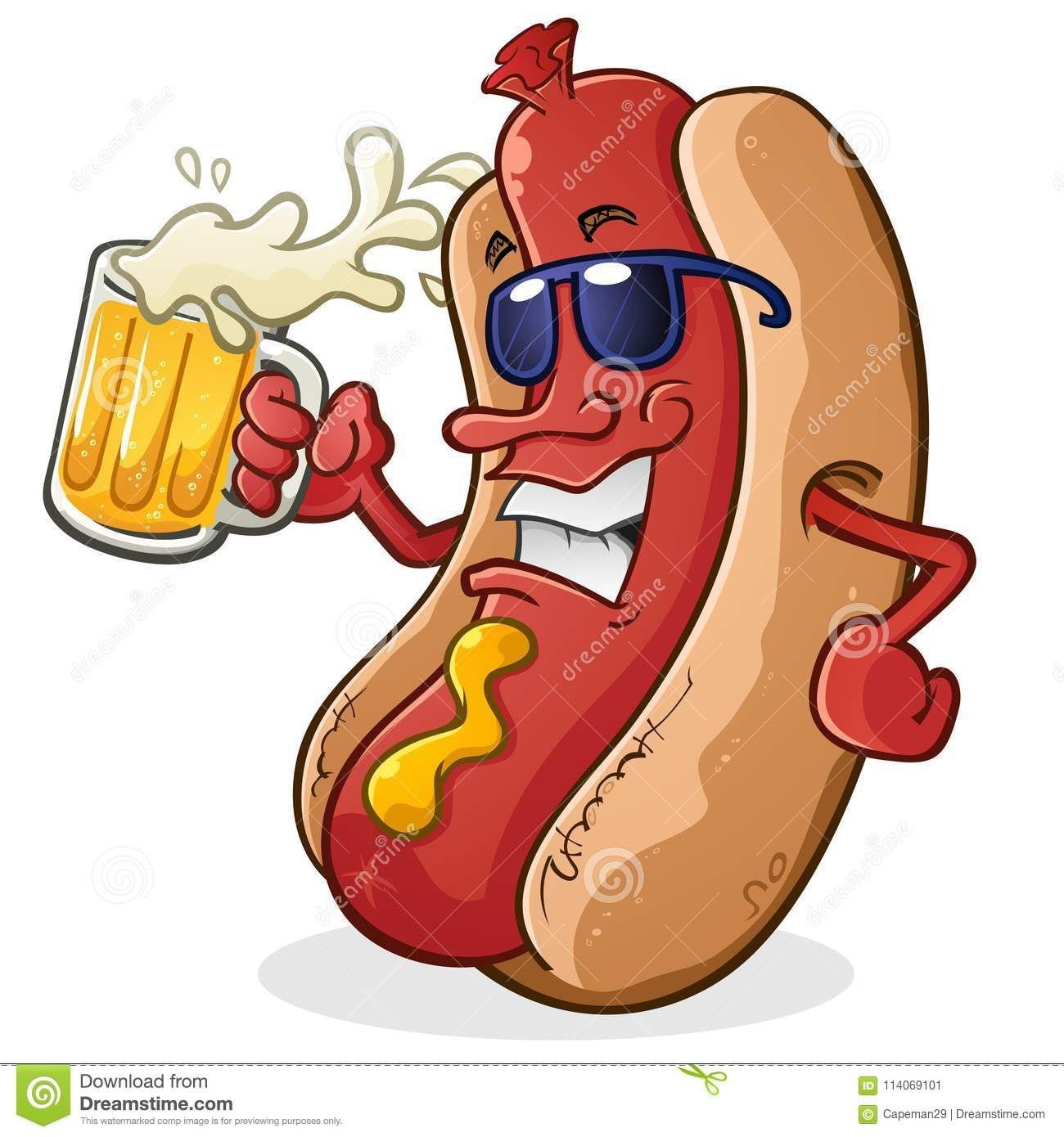 Resultado De Imagen De Dibujo Hot Dog 3d Hot Dog Drawing Cartoon Dog Dog Clip Art