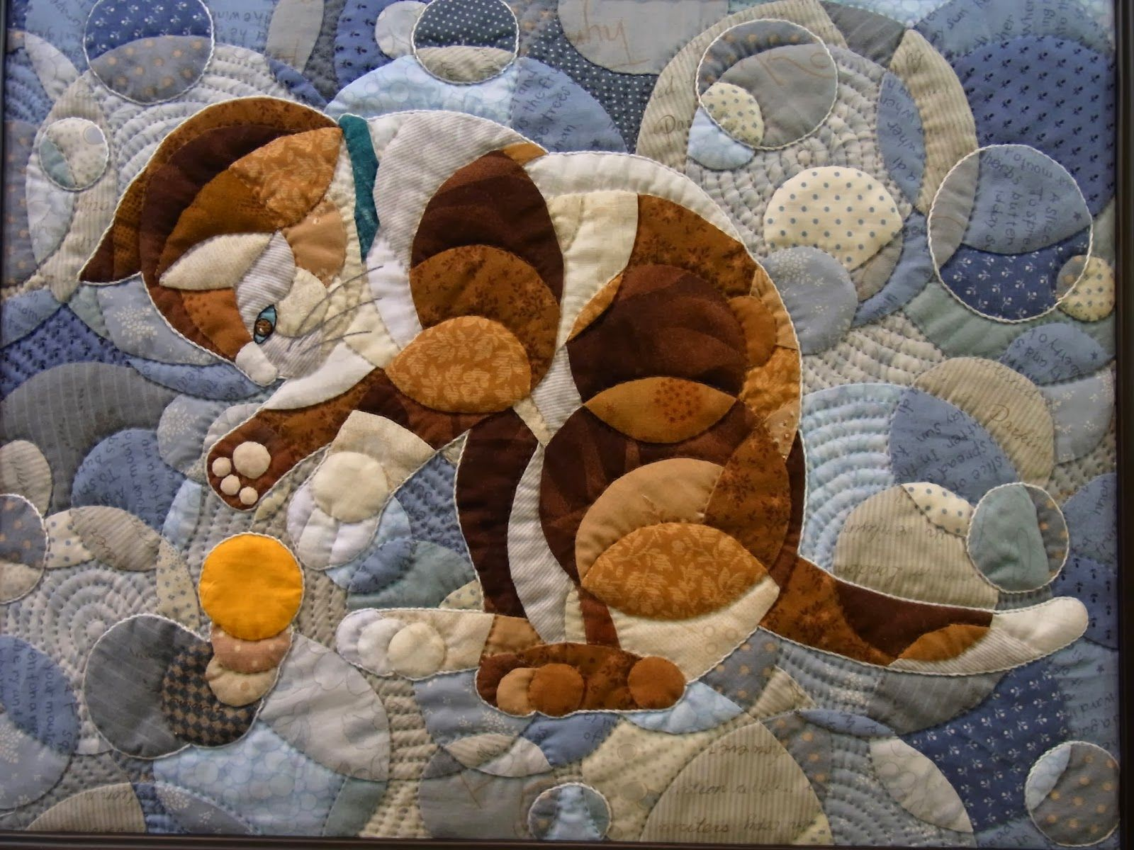 Casual Japanese Bystander: Tokyo International Great Quilt ... : framed quilt art - Adamdwight.com