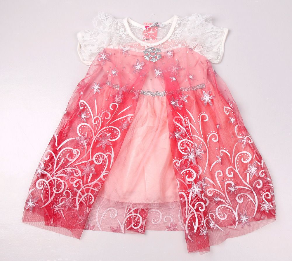 2015 New Baby Girls Dress Lace Princess Dress Vestidos Summer Style