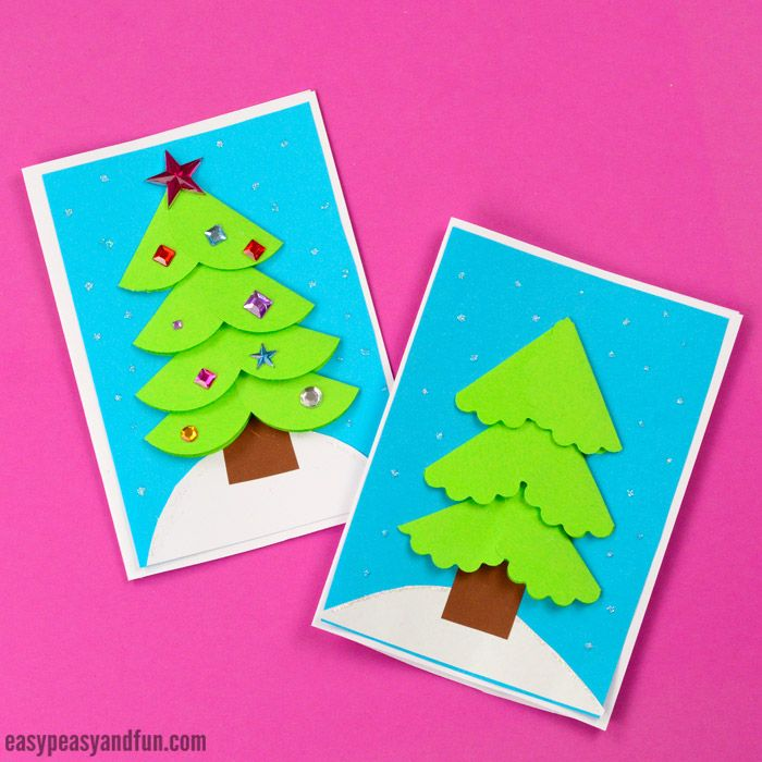 Paper Circle Homemade Christmas Card | Tél | Pinterest | Fingerprint ...