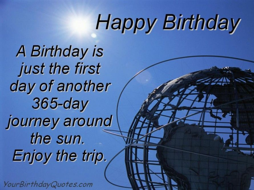 birthday quotes birthdayquoteswishesenjoythetrip – Quotes About Birthday Greetings