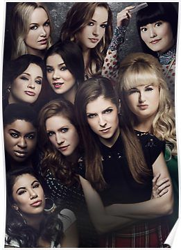 Barden Bellas Pitch Perfect 2 Poster By Janina3 Pitch Perfect