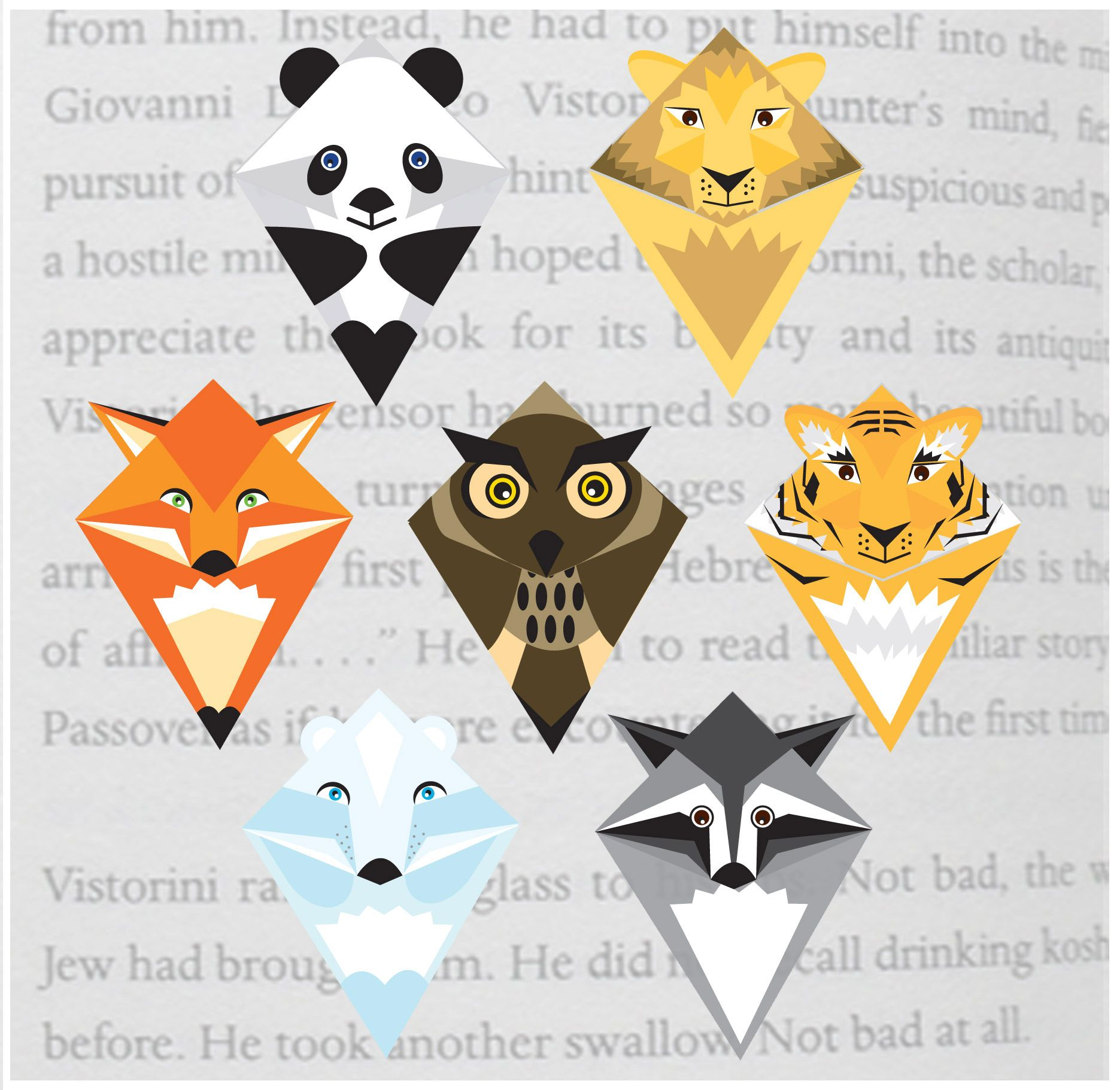 Animal Corner Bookmarks