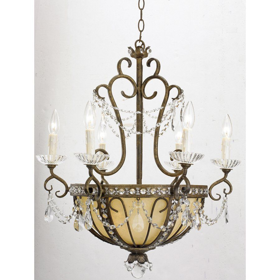 Portfolio 9 Light Bronze Chandelier Lowe S Canada