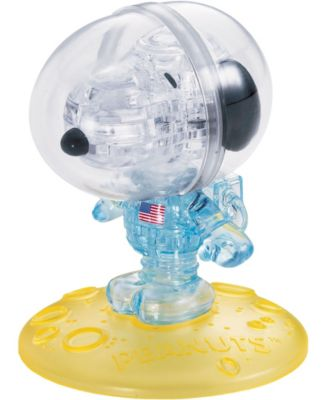 Crayola 3d Crystal Puzzle Peanuts Astronaut Snoopy Reviews Home Macy S Snoopy 3d Crystal Cartoon Puzzle