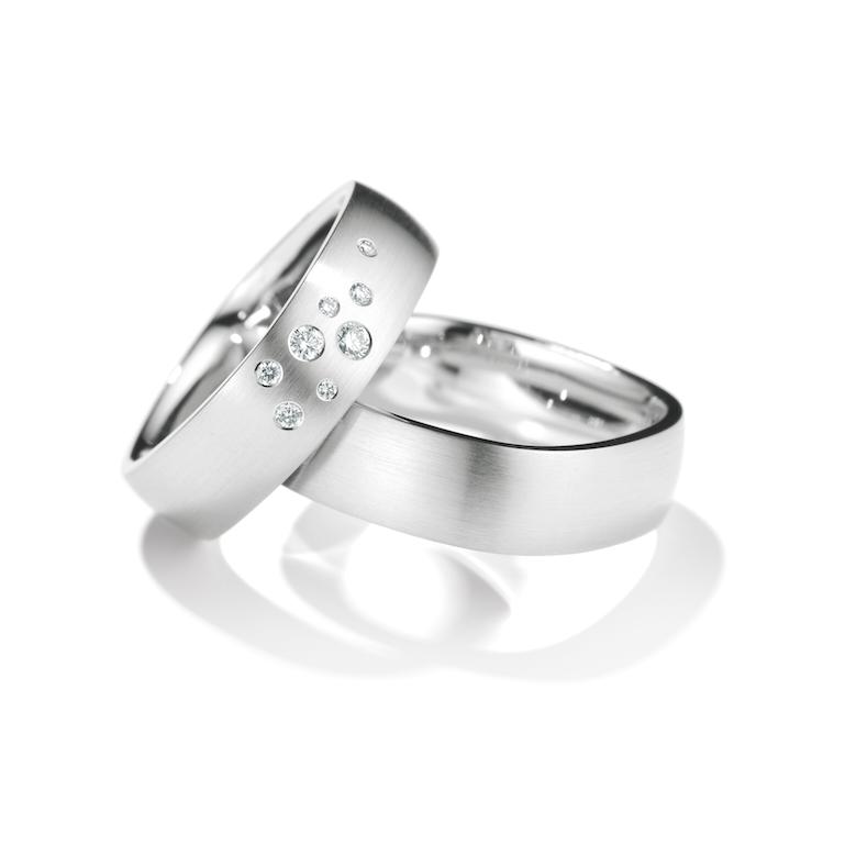 Henrich Denzel Forma Wedding Rings Orro Contemporary Jewellery