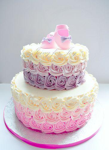 Pasteles Para Baby Shower Nino : pasteles, shower, Shower, Ombre, Irene, Flickr, Cakes,, Cakes, Girl,