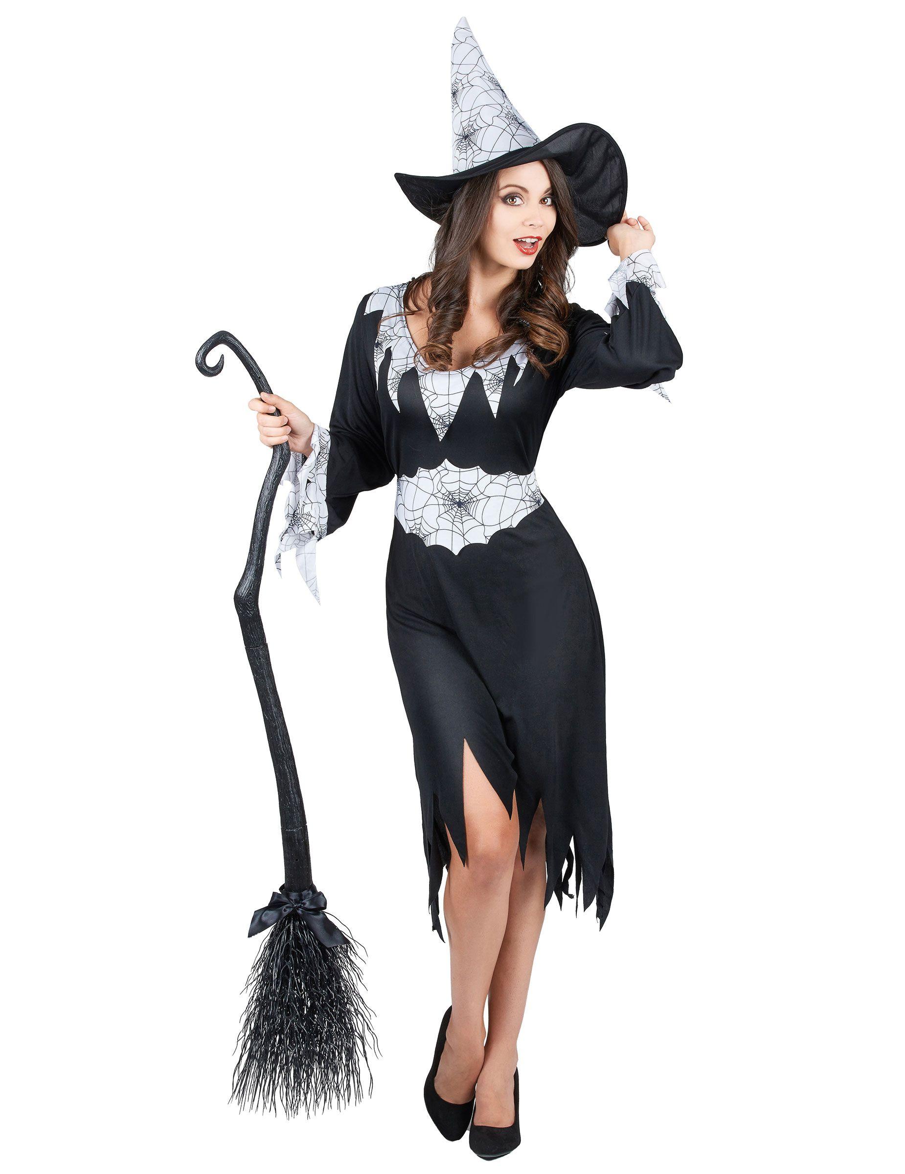 Costume strega donna Halloween e molti altri vestiti da donna per Halloween cb24f2bd4e04