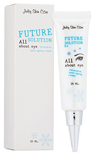 Juicy Skin Care Future Solution Ex All About Eye Reversive Antiaging Cream 20g 07054oz Plus Collagen Under Eye S Remove Dark Circles All About Eyes Skin Care