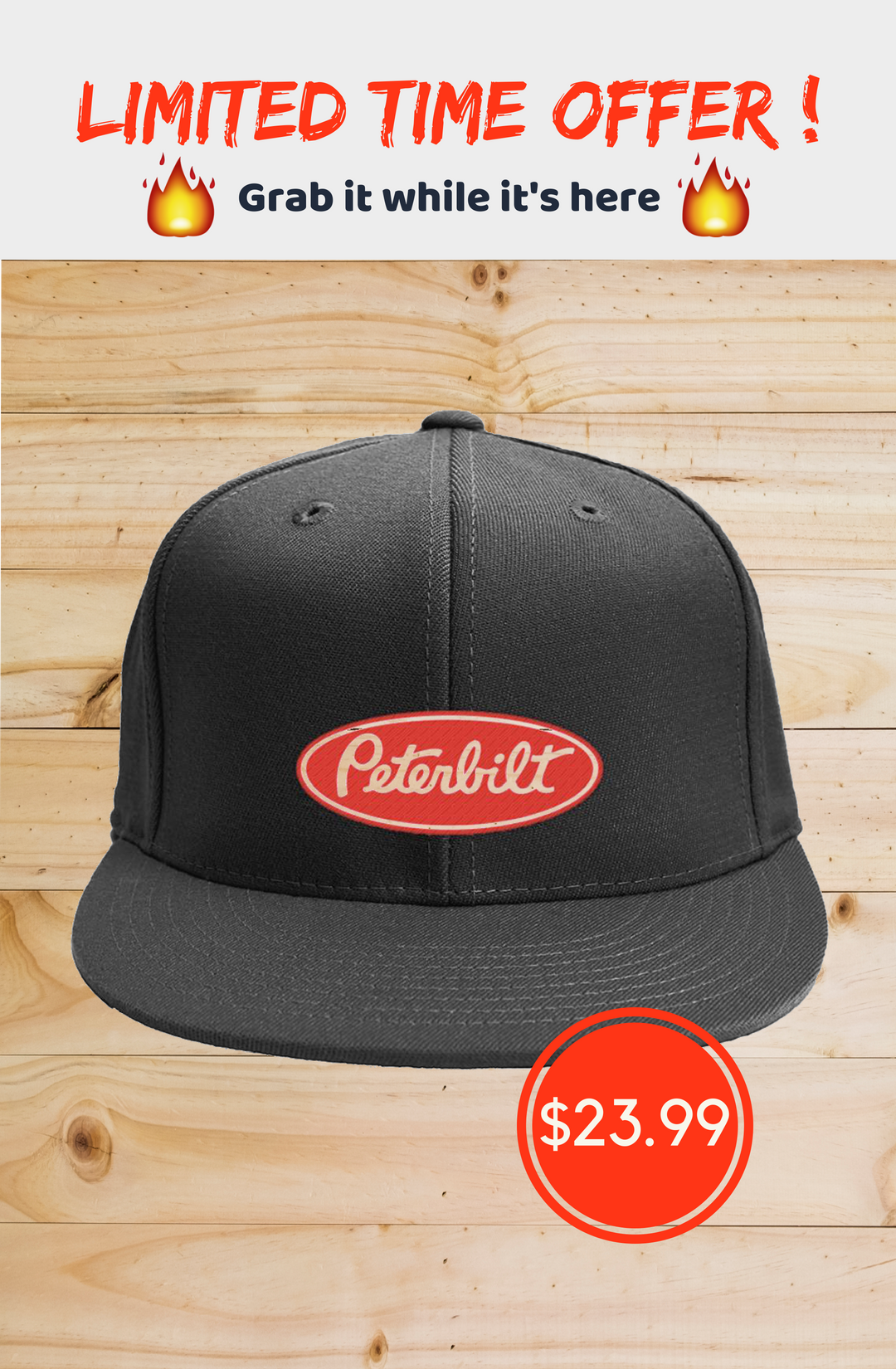 eb78e8ef #Peterbilt Trucker - Hat **LIMITED TIME ONLY Special Offer, not available in