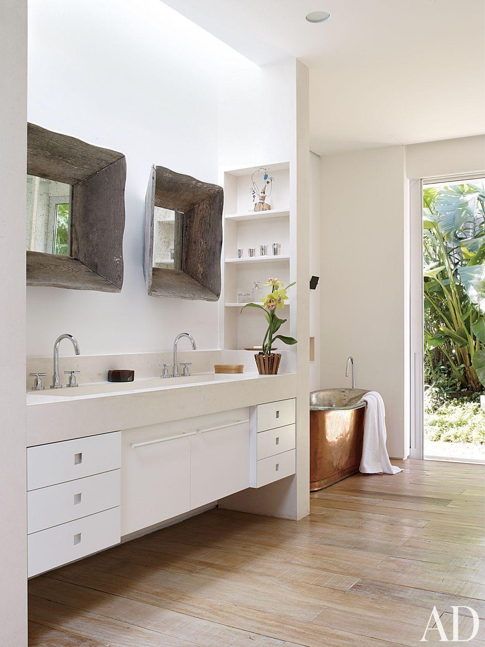 Rustic Bathroom by Isay Weinfeld in São Paulo, Brazil   House ideas ...