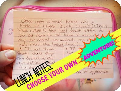 lunch notes