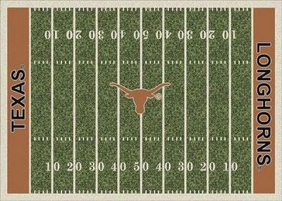 Texas Longhorns Home Field Area Rug