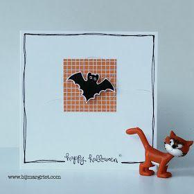 Bij Margriet; Stampin' Up! inspiratie en verkoop: CAS Halloween