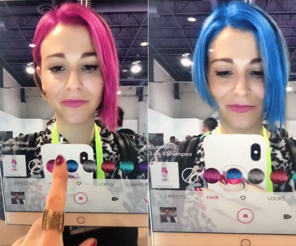 Change Your Hair Color With Ar Change Hair Hair Colour App Makeup App