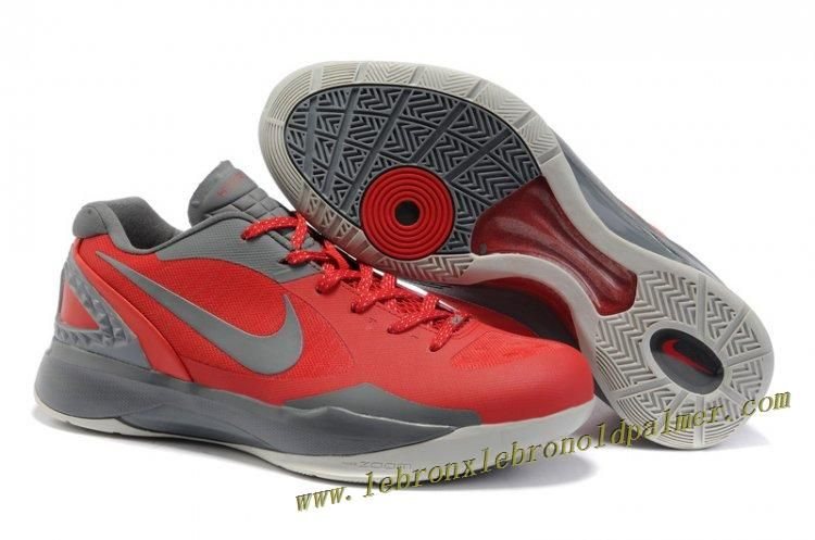 New nike zoom hyperdunk blake griffin mens low red/gray shoes