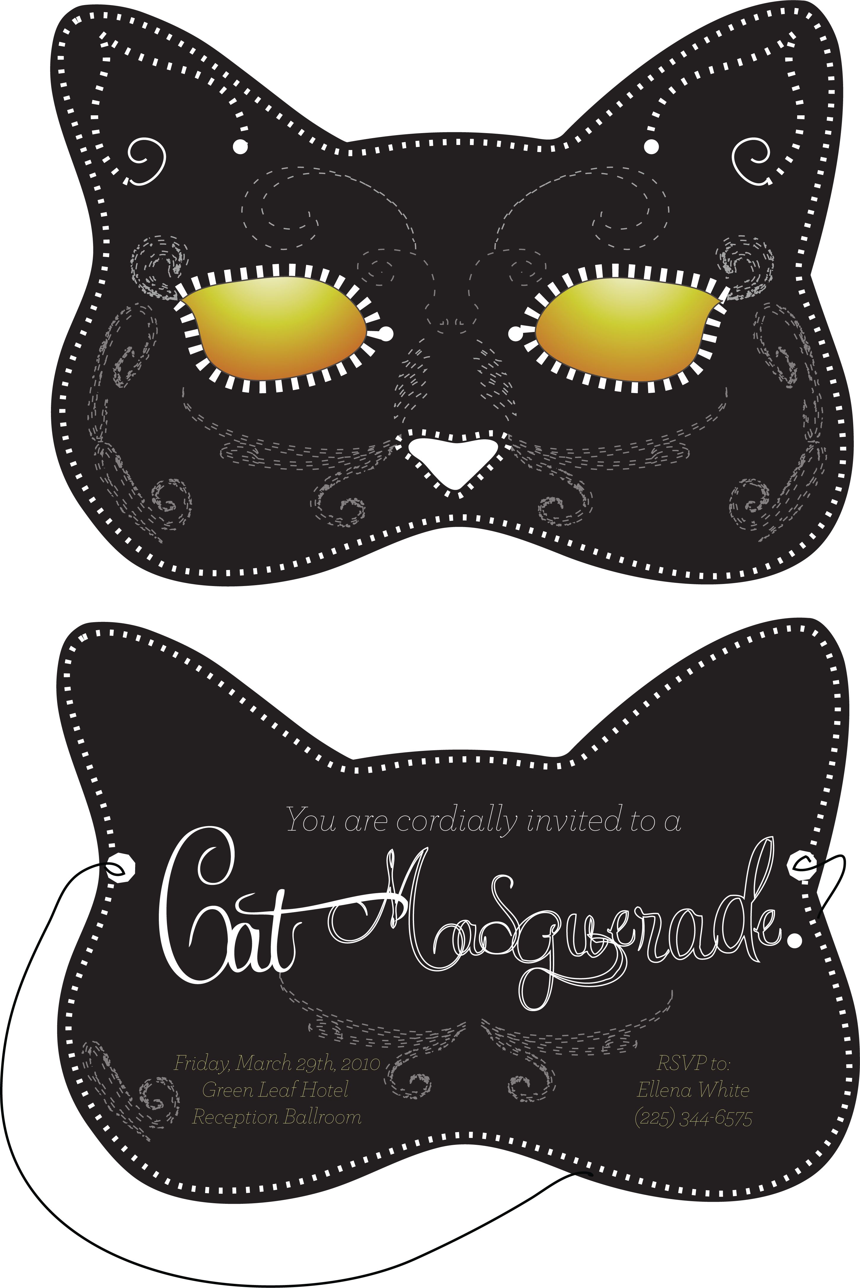 cat mask - Google Search | Holidays | Pinterest | Masquerade ...