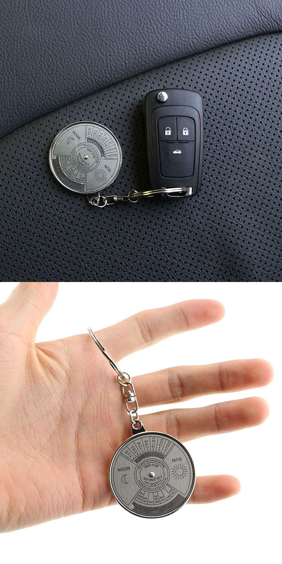 2016 Fashion Men Leather Key Chain Ring Keyfob Car Keyring Keychain Gift JB